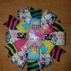 Other - Rainbow Hello Kitty bow